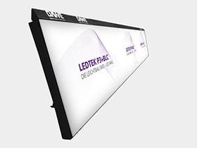 Bande für sportliche Nutzung von LED-Wänden
