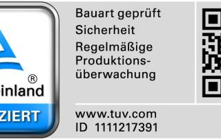 TÜV Rheinland zertifiziert LedTek-Produkte