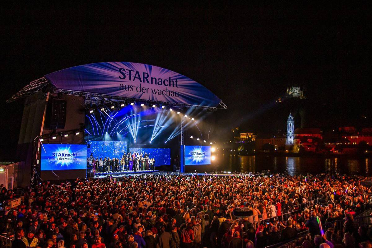 Starnacht Österreich Veranstaltung Konzert Musik
