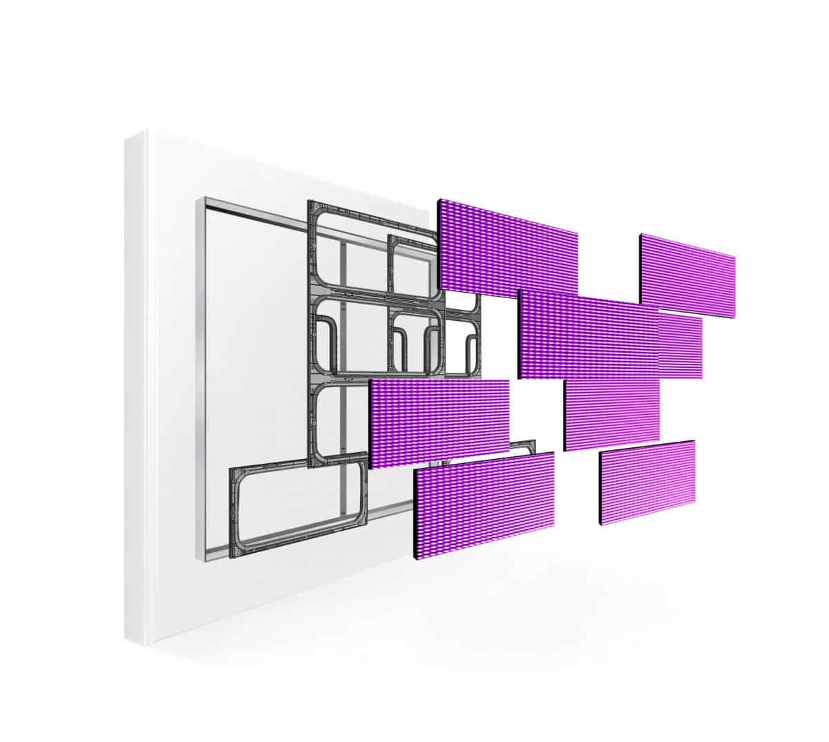Fassadenwerbung LED
