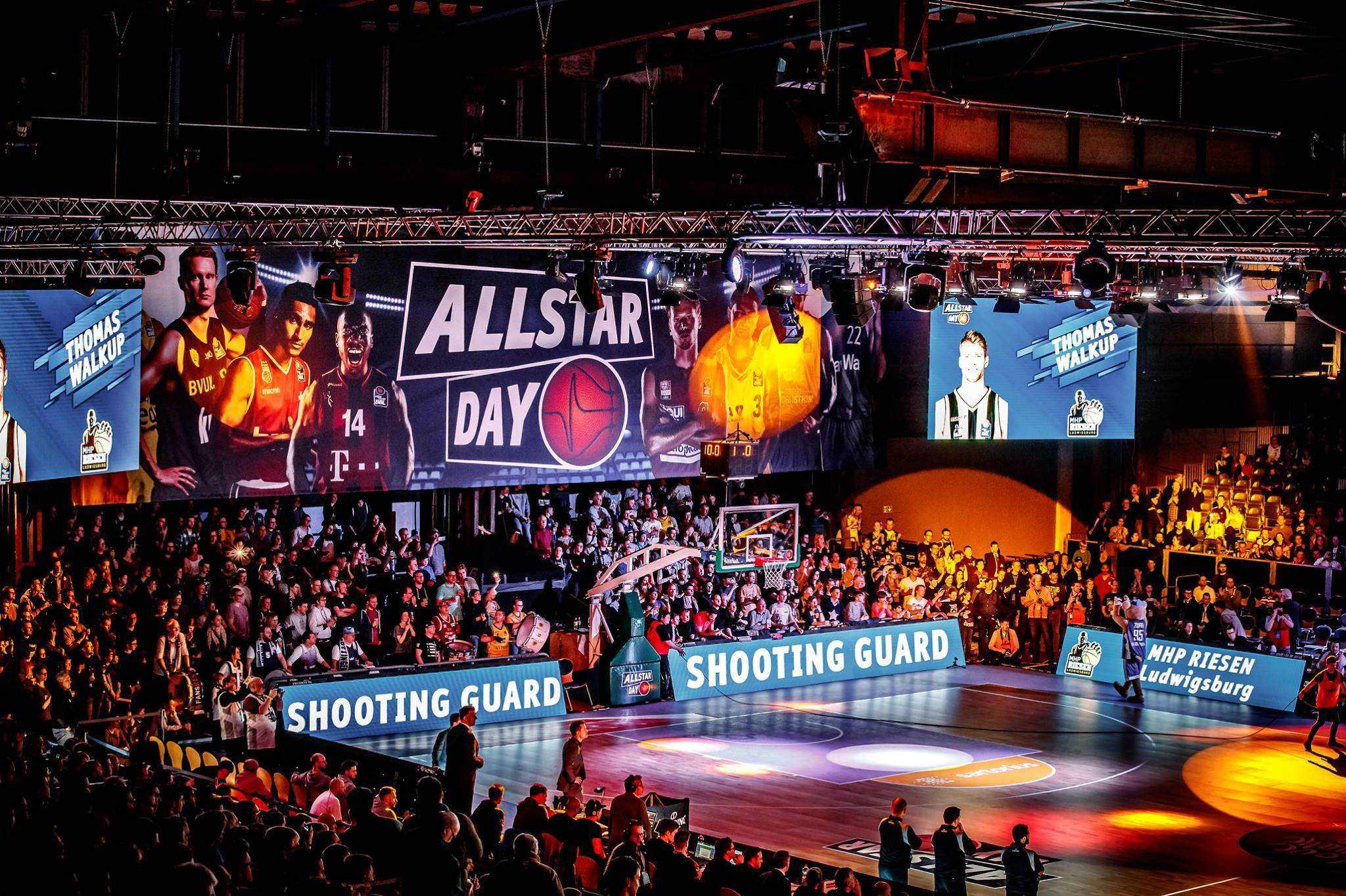 LED-Wall Basketball Spielebande