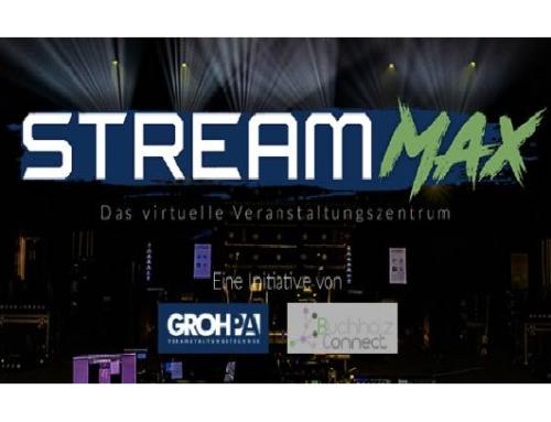 Groh-P.A. ruft Livestream für Künstler ins Leben