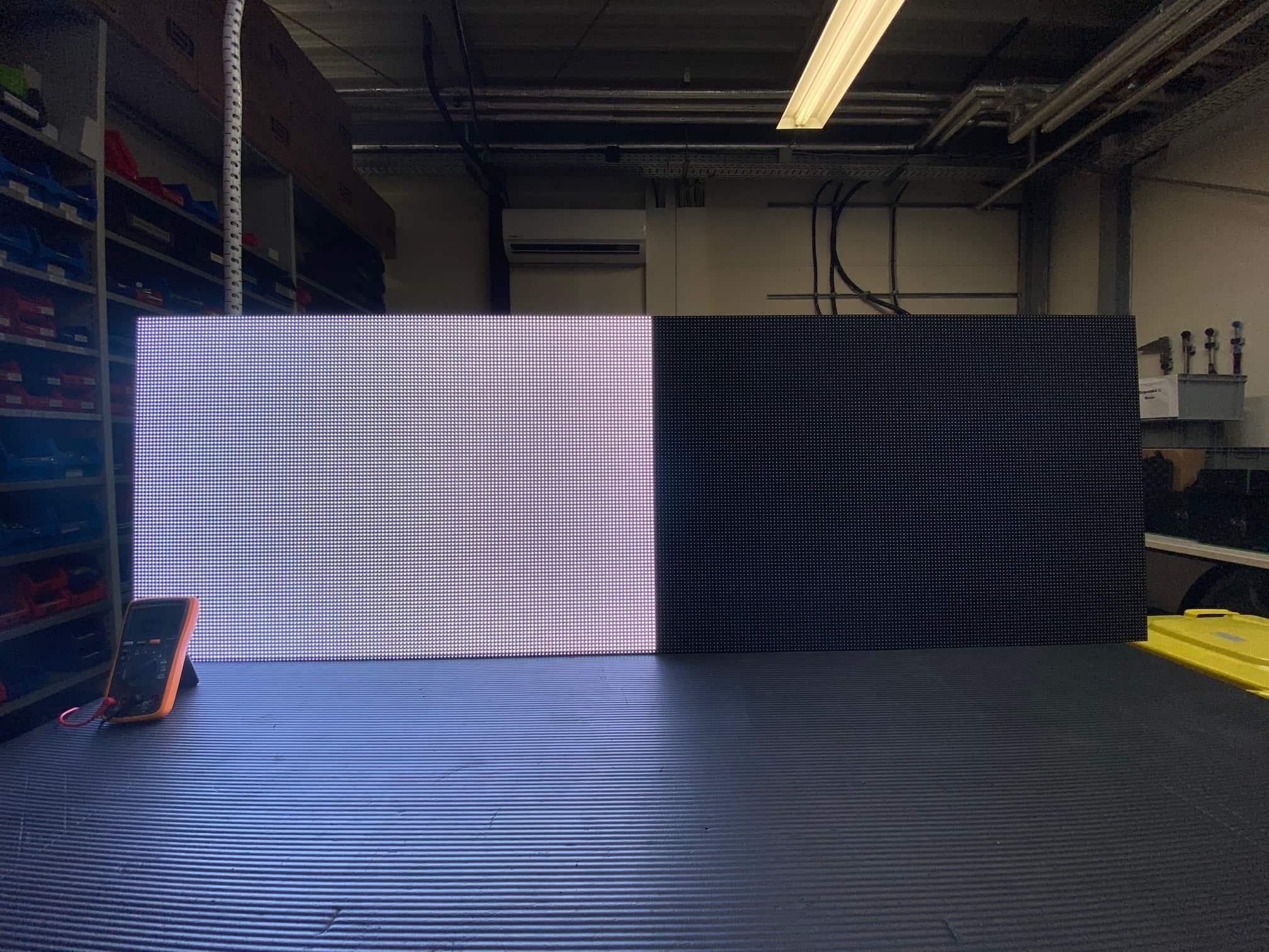 Stromverbrauch LED-Wand