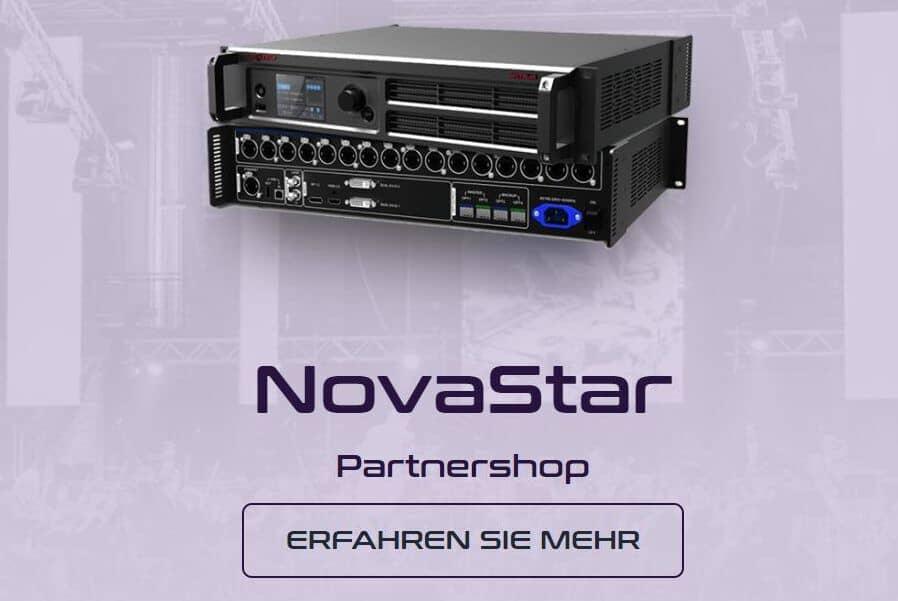 NovaStar Shop, LED-WAnd kaufen, LED Wand leihen