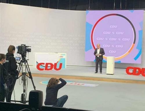 Digitaler CDU-Landesparteitag in den HI Studios mit Audio Werft