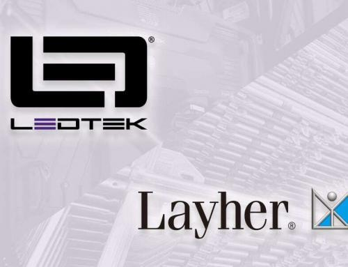 Kooperation mit Layher für unsere Pro-Serie: mehr als eine LED-Wand