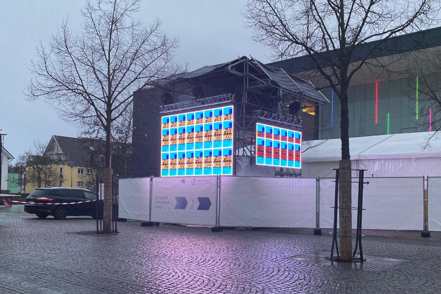 Topro, Pro-Serie, Outdoor, LED Wand kaufen, LED Wand leihen