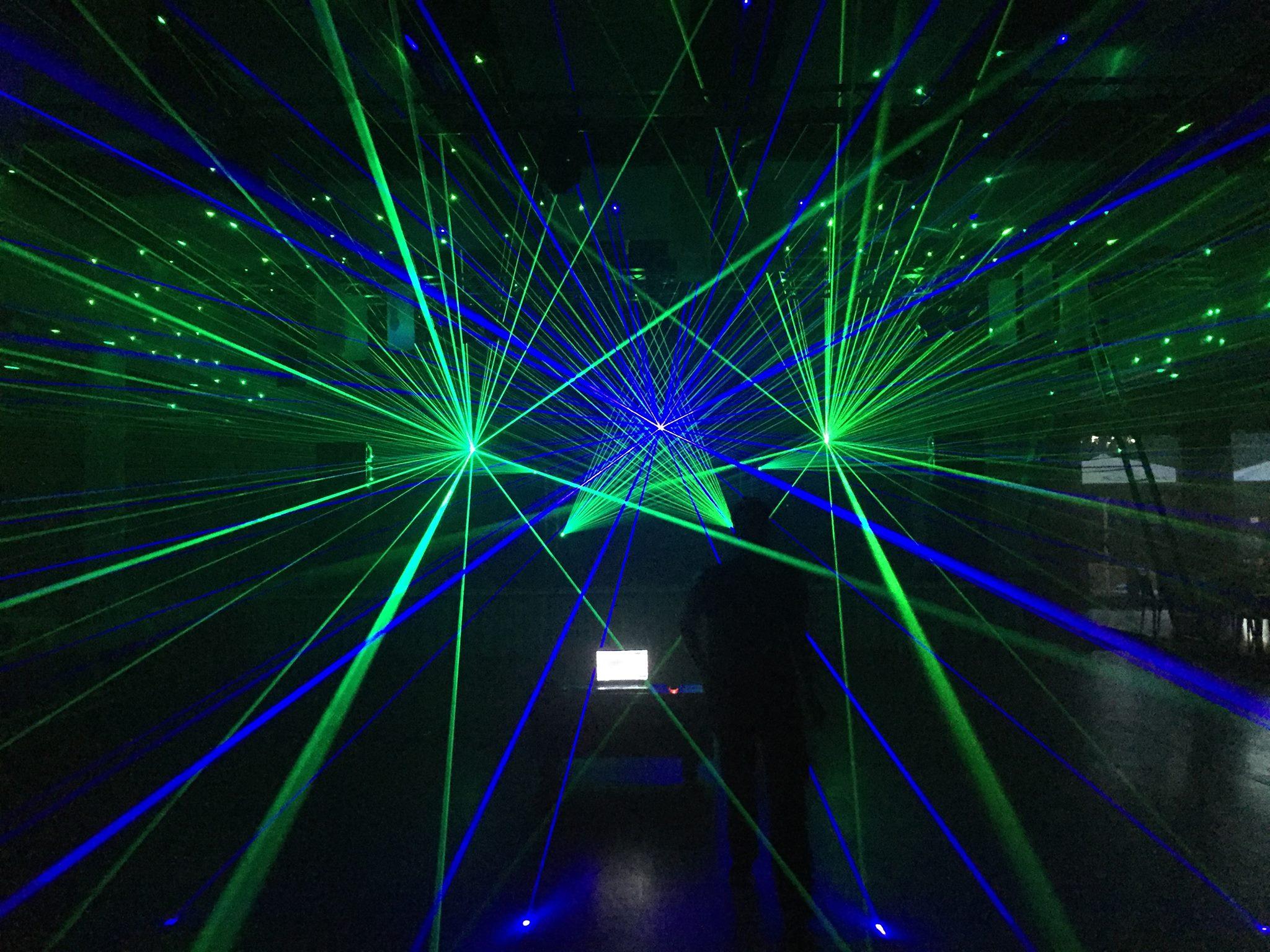BLM Media und Eventtechnik Lichtshow