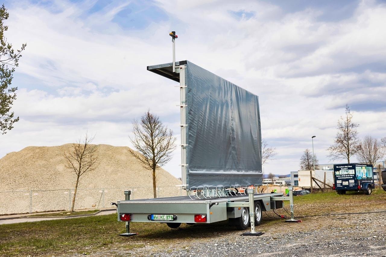 LED-Trailer Transport