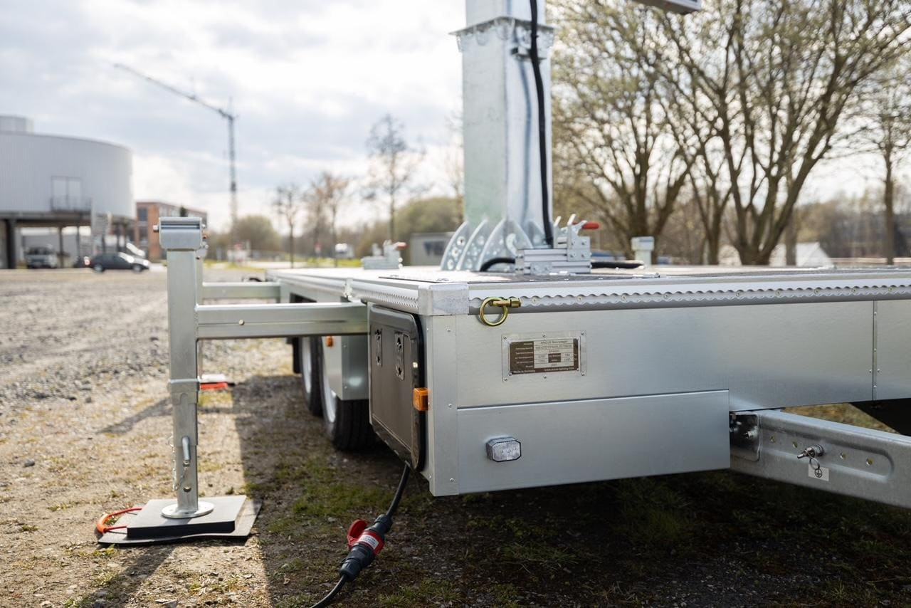 LED-Trailer Transport Unterkonstruktion