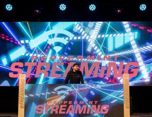 mks und Peppermint Streaming mit Videoscreens von LedTek