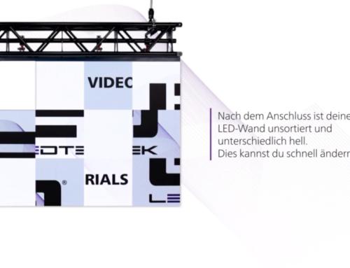 Programmierung einer LED-Wand – LedTek Tutorials