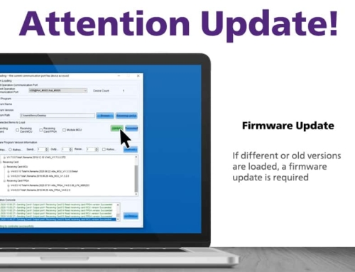 Firmware Update for the Pro-Series: Making Things Work