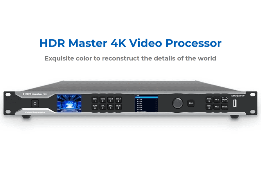 HDR Master 4K NovaStar LED-Controller