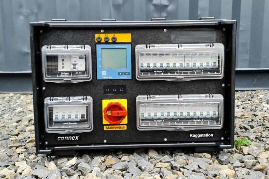 Connex, Stromverteilung,