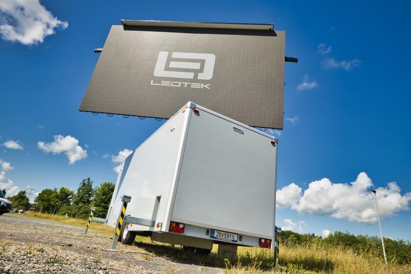 LED-Trailer, E2 Event Engineering, LED Wand kaufen, LED Wand leihen