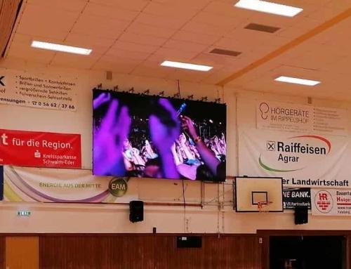 Sporthalle Gensungen mit audiotech