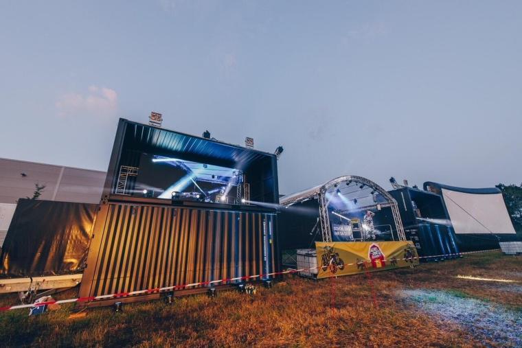 Treckerdisco Rotenburg, Sound-Patrol, LED Wand leihen, LED Wand kaufen