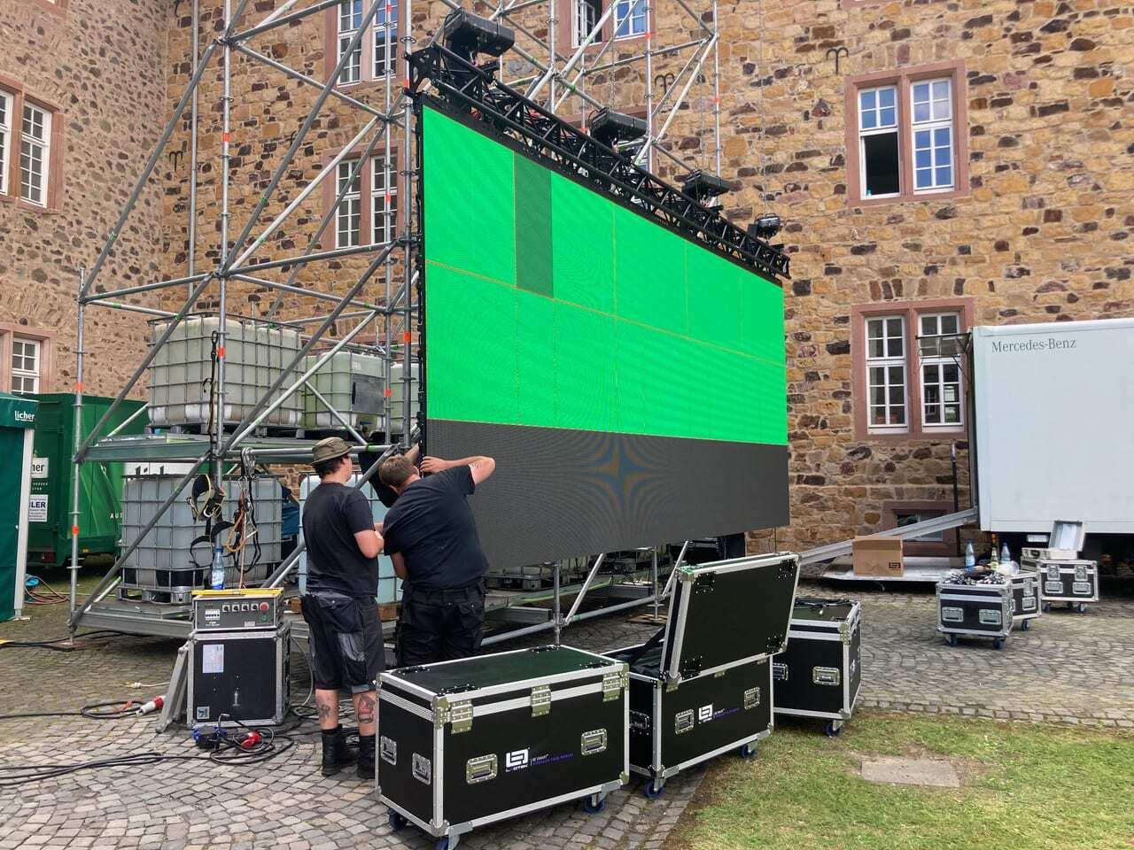 Butzbach Open Air Kino LED-Wall