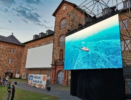 Hessens größtes Open Air-Kino: Butzbach und die P4+WH Pro