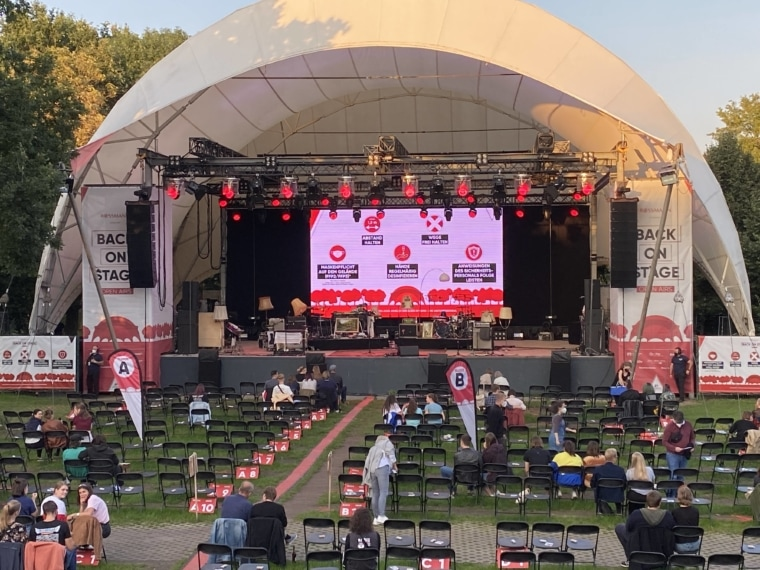 exposive mediengruppe, Hannover Concerts, LED Wand kaufen, LED Wand leihen